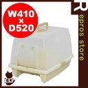 ◆砂落としマット付脱臭ネコトイレ SN-520 ミルキーブラウン アイリスオーヤマ ▼g ペット グッズ キャット 猫 トイレ