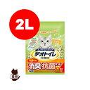デオトイレ飛び散らない消臭抗菌サンド 2リットル ユニチャーム▼a ペット キャット グッズ トイレタリー トイレ用品 猫砂 その1