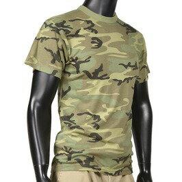 RothcoTシャツ半袖ウッドランドカモ[XSサイズ]