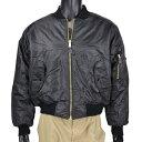 Rothco フライトジャケット MA-1 [ ブラック / Mサイズ...
