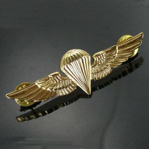 Rothco大頭針徽章1652海軍陸戰隊空中梃進徽章帕拉翅膀| 大頭針軍事徽章軍事批量徽章胸章肩章徽章袖子章臂章級別章
