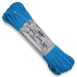 ATWOOD ROPE 550パラコード タイプ3 ブルー アトウッドロープ blue 青 商用 30m パラシュートコード 綱 靴紐 靴ひも シューレース 防災画像