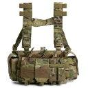 ウォーリアーアサルトシステムズ FALCON チェストリグ M4マグ最大14本収納可能 [ マルチカム ] WARRIOR ASSAULT SYSTEMS ファルコン Chest Rig W-EO-FCR STANAG P-MAG スタンダードM4 次世代M4 AK M14 SCAR サバゲー サバゲー装備・・・