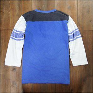 チャンピオンTシャツ7分袖フットボールロッカウェイメンズ[ロイヤルブルー/Lサイズ]C3-D308CHAMPIONミリタリーシャツ7分袖シャツアーミーシャツアサルトシャツTDUシャツ