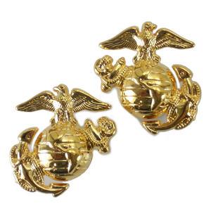 Rothco軍事徽章海軍陸戰隊家徽2個1548螺絲式安排海軍陸戰隊2個| 大頭針軍事批量徽章徽章胸章肩章徽章袖子章臂章級別章