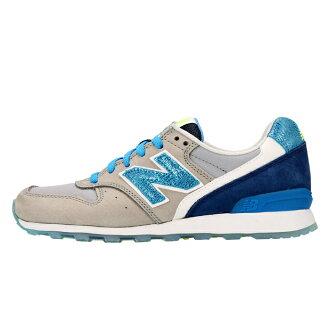 [有1,000日圆OFF優惠券][日本未進貨][女士女士]New Balance x Bergdorfs Women WL696BGG nyubaransubagudorufuguddomankorabo鞋運動鞋灰色藍色多色海外限定696