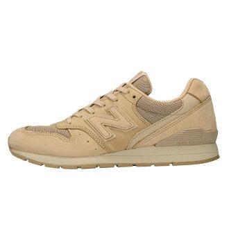 [有1,000日圆OFF優惠券][女士女士]New Balance MRL996KL新平衡反毛皮革鞋運動鞋996棕色淺駝色