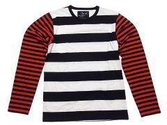 【メンズ】agnes b.×OPENING CERMONY ボーダー Tシャツ メンズ /アニエスベー オープニングセ...