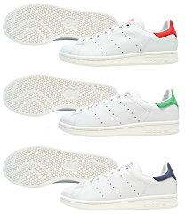 【全3色】【メンズ】adidas STAN SMITH アディダス スタンスミス ホワイト グリーン レッド ネ...
