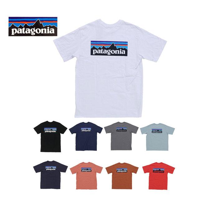 トップス, Tシャツ・カットソー Patagonia Ms P-6 Logo Responsibili-Tee 38504 T (pat0098)