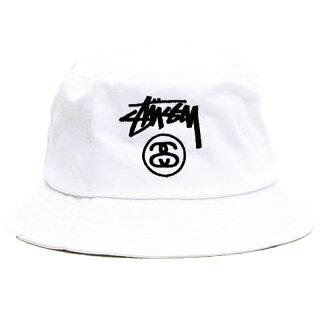 【全3色】【メンズレディース】STUSSYSTOCKLOCKBUCKETHATステューシーストックロックバケットハットブラックホワイトネイビー帽子