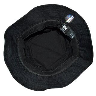 【全3色】【メンズ/レディース】STUSSYSTOCKLOCKBUCKETHATステューシーストックロックバケットハットブラックホワイトネイビー帽子【P12Sep14