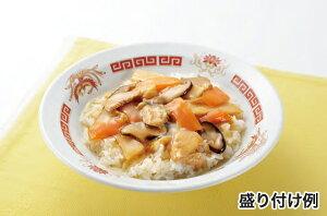 中華丼盛り付け例