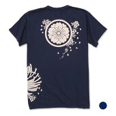 纏桜吹雪抜染Tシャツ