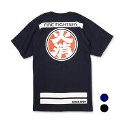 Tシャツ ネイビー ファッション レスキュー レスキュースクワッド トップス カットソー