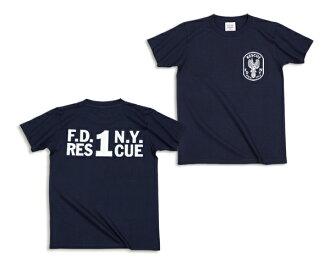FDNY rescue 1 T shirt [ladies '] (62-050) :RESCUE SQUAD [rescue squad.