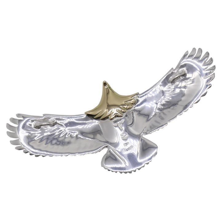 TADY&KING タディ&キング goro's ゴローズ 魂継承 中イーグル 頭金 金縄 ターコイズ メンズ レディース eagle イーグル ペンダント ネイティブ アクセサリー tkh036