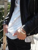 フェザーGP平打ちバングル(Mサイズ)SVアクセネイティブアクセサリーメンズシルバーフェザーネックレスリングペンダントバングルTADY&KING【タディ&キング】【goro