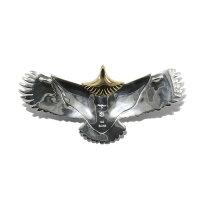 TADY&KINGタディアンドキングgoro'sゴローズ魂継承特大イーグル頭金tkh027メンズレディースeagleK18ペンダントイーグルネックレス18k鷲鷹翼ネイティブシルバーアクセサリーレジスト原宿