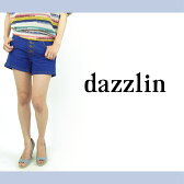 【dazzlin(ダズリン)】カラーデニムショートパンツ