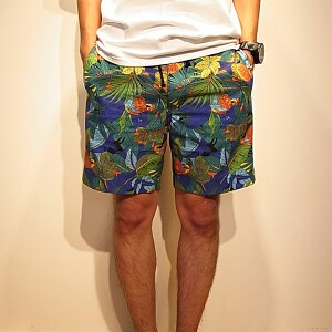 【GDC】【予約販売3月上旬】M-28016 tropical board shorts