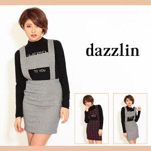 dazzlin【dazzlin(ダズリン)】サス付チェックサロペットワンピース