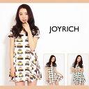 JOY RICH【JOY RICH(ジョイリッチ)】Gold Tranz Skater Dr ワンピース