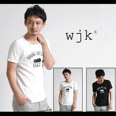 【wjk】EVERLAST x wjk printed turnup c/s s/s (ELWJK) C100 Tシャツ
