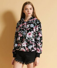 【JOY RICH(ジョイリッチ)】【JOY RICH(ジョイリッチ)】Floral Ave Hoodie パーカー