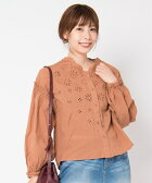 【Laymee レイミー】【予約販売9月下旬〜10月上旬入荷】LY17WT-SH01-Pant blouse パントブラウス