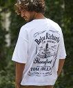 【CAMBIO(カンビオ)】ビッグシルエットTシャツ-Braian(S...