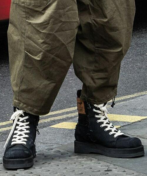 ブーツ, その他 glamb()12Slinky denim boots (GB0419-AC09)