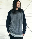 【glamb(グラム)】【予約販売10月上旬〜中旬入荷】Tri layered yak knit トライレイヤードヤクニット(GB0321-KNT01)