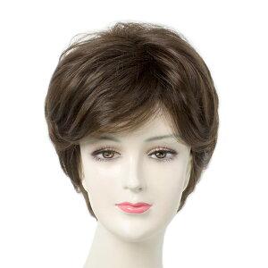 be1229eca65744 ウィッグ ショート 女性用 ミセス 医療用ウィッグにも 人毛のように自然