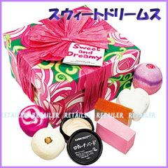 ♪人気のLUSH プレゼントにっ♪ ★【LUSH】ラッシュ スウィートドリームス [ギフトセット]