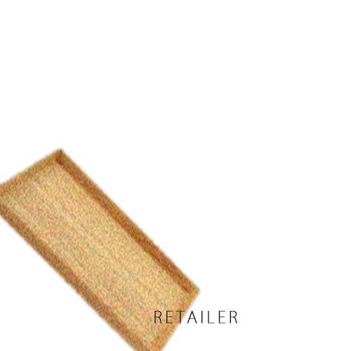 ♪ 約幅27×奥行19×高さ2cm【無印良品】木製 角型トレー 約幅27×奥行19×高さ2cm<キッチン用品><台所用品><お盆><トレイ>