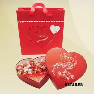 ★スイスのプレミアムチョコレートブランド「Lindt リンツ」★♪ハートボックス★【Lindt】リン...