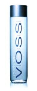 VOSS sparkling water (炭酸入り)ナチュラル ミネラルウォーター 800ml 1ケース(12本入り) 【送料無料!!】【toukaifree0601】<水・ヴォス・ボス>