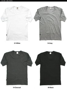 【送料無料】AVIREX(アビレックス)デイリーUネック5分袖シャツ