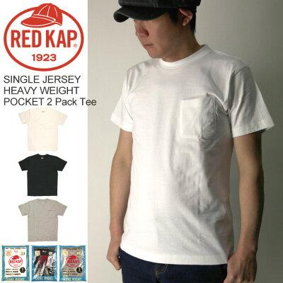 RED KAP(レッドキャップ)   ポケット  パック Tシャツ
