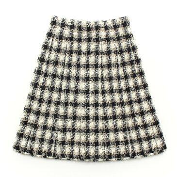 【シャネル】Chanel ツイード ロングスカート 36 【中古】【鑑定済・正規品保証】【送料無料】29658