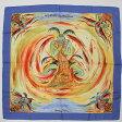 【エルメス】Hermes カレ90 LES PERLES DE TURKANA シルク スカーフ 【中古】【鑑定済・正規品保証】【送料無料】14879