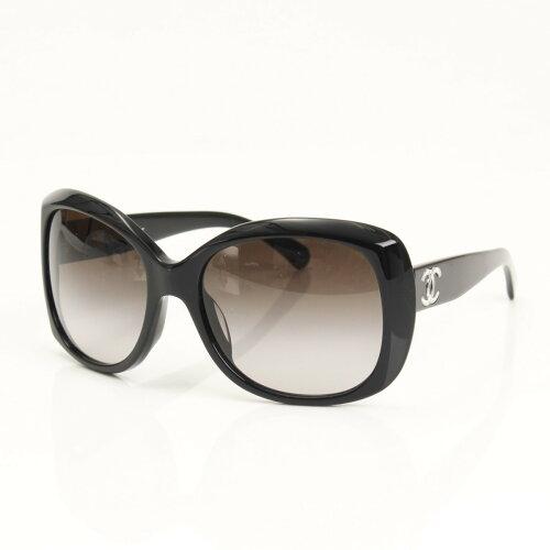 Chanel ココマーク サングラス 5183-A ブラック 59□18 【鑑定済・正規品保...