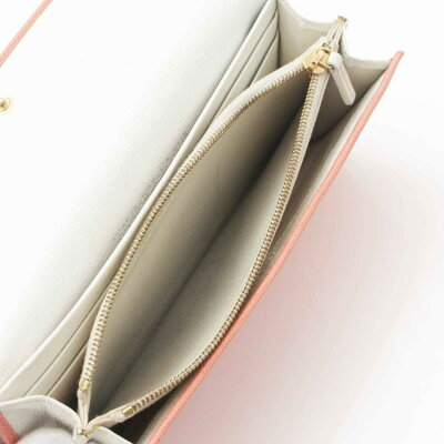 【フェンディ】Fendiレザー長財布ピンク【】【鑑定済・正規品保証】【送料無料】19373