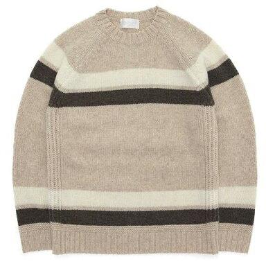 Soglia Landnoah Sweater: Beige Stripe
