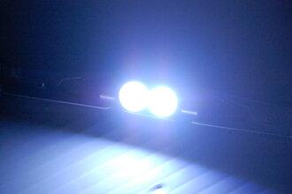 貼片燈燈泡單 36 毫米貼片光顏色: 白色貼片