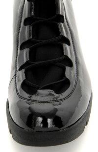 【DonCarlos】スニーカーを超えた履きやすさが人気☆今年も再登場のエナメル×ストレッチブーツ/ヒール5.5cm