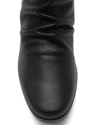 【DonCarlos】フラットのような履き心地☆ウェッジヒール☆コンフォートのハーフブーツ♪ヒール5.5cm