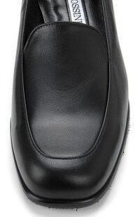 【ROSSINI】雨でも履ける!シンプルな定番ローヒールローファー/撥水・ヒール3.5cm