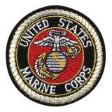 Rothco ミリタリーワッペン 1649 アメリカ軍 海兵隊 | ミリタリーミリタリーパッチ アップリケ 記章 徽章 襟章 肩章 胸章 階級章